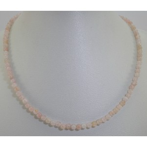 Collier en morganite