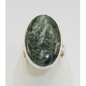 Bague en séraphinite